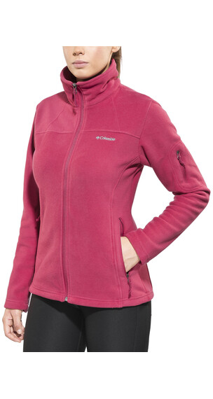 Columbia Fast Trek II Jacket Women Red Orchid